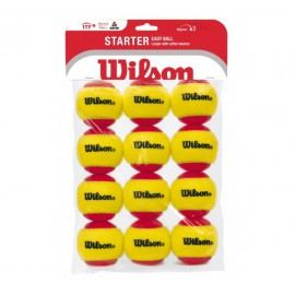 Wilson Starter Red TBall 12 Pack