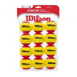Wilson Starter Red TBall 12 Pack