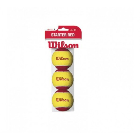 Wilson Starter Red TBall 3 Pack