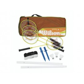 Wilson BMNT PLSTC POLES 4 PC KIT