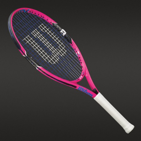 Wilson Burn Pink Junior 23