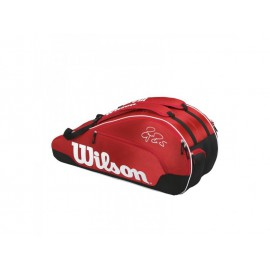 Wilson Federer Team III 6 Pack Red