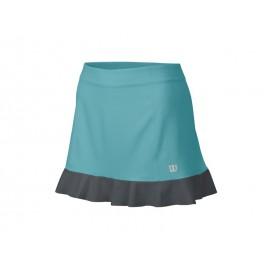 Wilson W Star Ruffle 12.5 Skirt Aqua