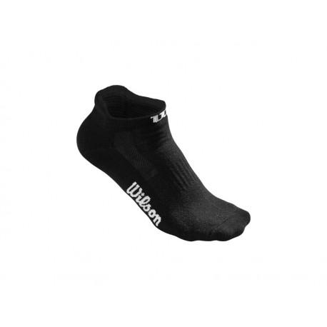 Wilson Black No Show Socks 3PR