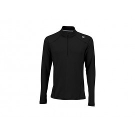 Wilson NVision Zip Neck Long Sleeve BK
