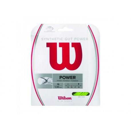 Wilson SYNTHETIC GUT POWER 16 LI