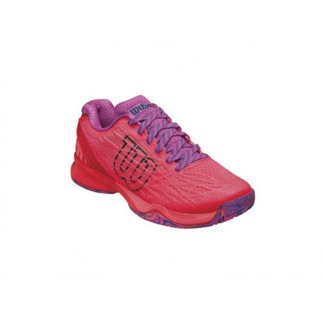 Wilson Kaos W Fiery Red/Rose Viole