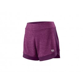 WILSON W CONDITION KNIT 3.5 SHORT BERRY/DARKPUR