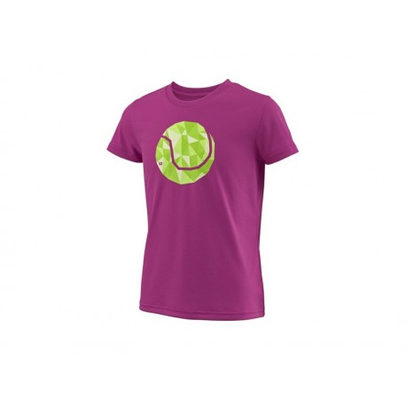 WILSON G TBALL TECH TEE BERRY