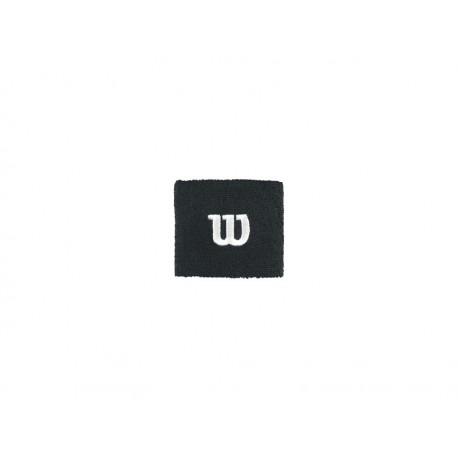 WILSON W WRISTBAND BK