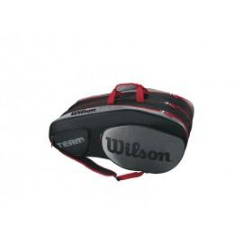 WILSON TEAM III 12 PACK BKGY