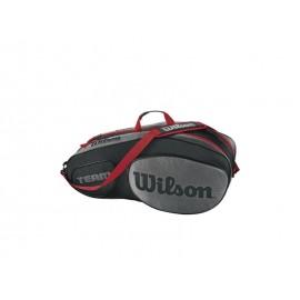WILSON TEAM III 6 PACK BKGY