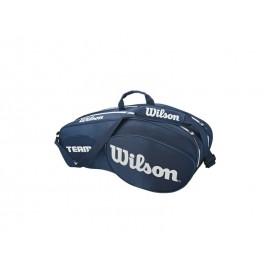 WILSON TEAM III 6 PACK BLWH