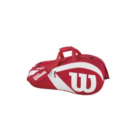 WILSON MATCH III 6 PACK RDWH