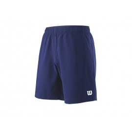 WILSON M TEAM 8 SHORT BLUE DEPTH