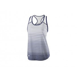 WILSON W TEAM STRIPED TANK BLUE DEPTH/WH