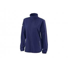 WILSON W TEAM WOVEN JACKET BLUE DEPTH/WH