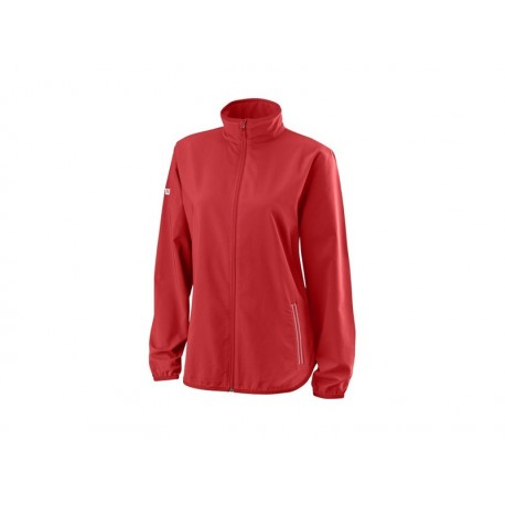 WILSON W TEAM WOVEN JACKET RD/WH