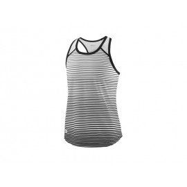 WILSON G TEAM STRIPED TANK BK/WH