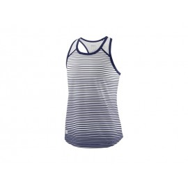 WILSON G TEAM STRIPED TANK BLUE DEPTH/WH