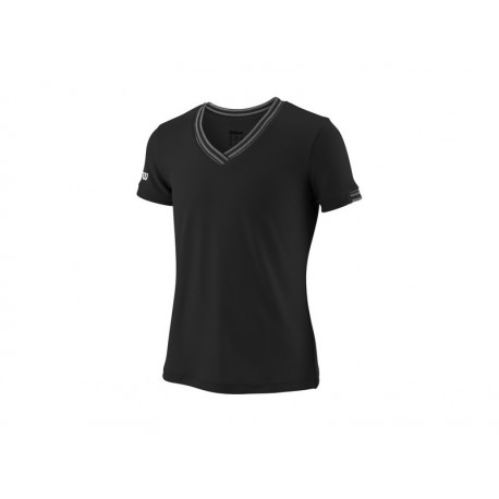 WILSON G TEAM V-NECK BK