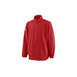 WILSON Y TEAM WOVEN WARMUP RD/WH