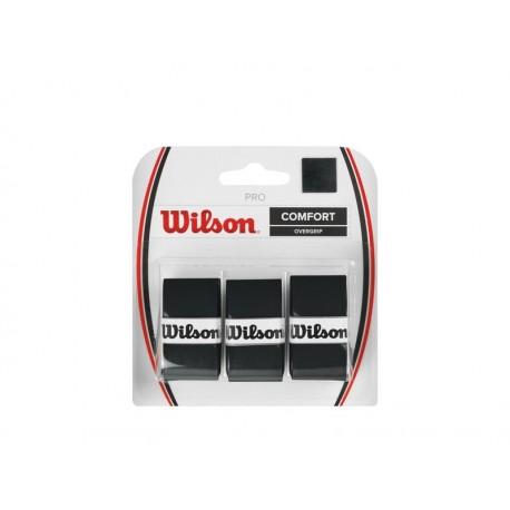 WILSON PRO OVERGRIP BK 3pk
