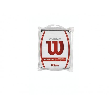 WILSON ADVANTAGE OVERGRIP BK 12pk