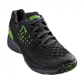 Wilson KAOS 2.0 Clay Court Bk/Ebony/Green G