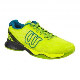 Wilson Clay Court Lime Punc/Navy/Blazer