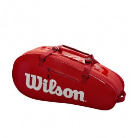 WILSON SUPER TOUR 2 COMP SMALL RED