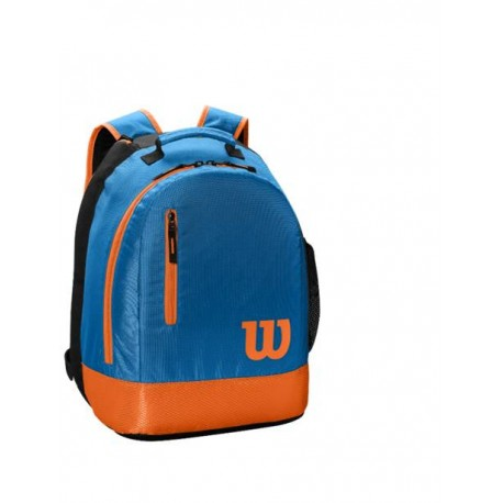 WILSON YOUTH BACKPACK Bl/Orange
