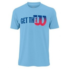 WILSON M GTW TECH TEE Airy Blue