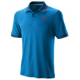 WILSON M STAR TIPPED POLO Brilliant