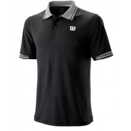 WILSON M STAR TIPPED POLO Bk