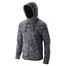 WILSON M TRAINING HOODED JACKET Bk