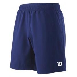WILSON M TEAM 8 SHORT Blue Depth