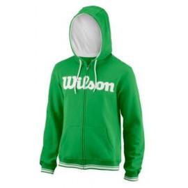 WILSON M TEAM SCRIPT FZ HOODY A Toucan/Wh