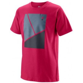 WILSON TRAMLINE TECH TEE Brilliant Blue