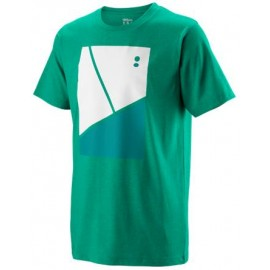 WILSON TRAMLINE TECH TEE Deep Green