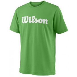 WILSON Y TEAM SCRIPT TECH TEE A Toucan/Wh