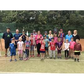 Příměstský tenisový tábor-kemp Praha 15.7. - 19.7. 2019
