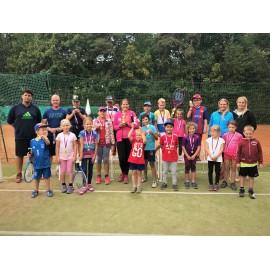 Příměstský tenisový tábor-kemp Praha 5.8.- 9.8. 2019