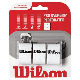 Wilson PRO OVERGRIP PERFORATED 3pk