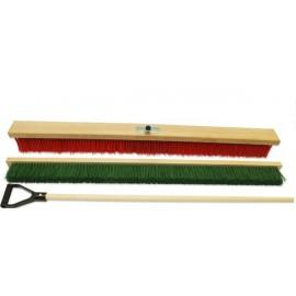 Kartáč na tenisový kurt STANDARD barvený + násada