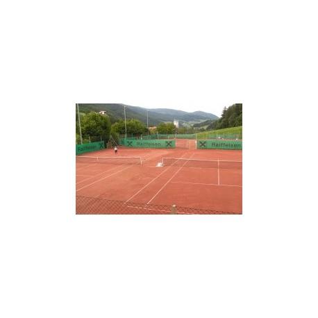 Výstavba tenisového antukového kurtu