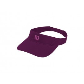 WILSON RUSH KNIT VISOR ULTRALIGHT DARKPURPL