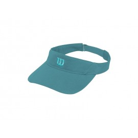 WILSON RUSH KNIT VISOR ULTRALIGHT BLUBRD