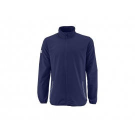 WILSON M TEAM WOVEN JACKET BLUE DEPTH/WH