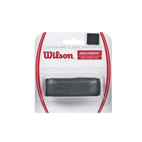 WILSON CUSHION AIRE CLASSIC PERFORATED BK